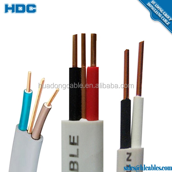 PVC CABLES 2x1.5 2x2.5 3x1.5 3x2.5 100% copper 100meters a role prices