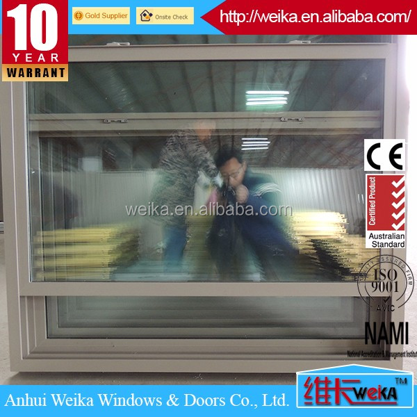 Ultra large American style vertical sliding window single hung/double hung glazed window for North America
