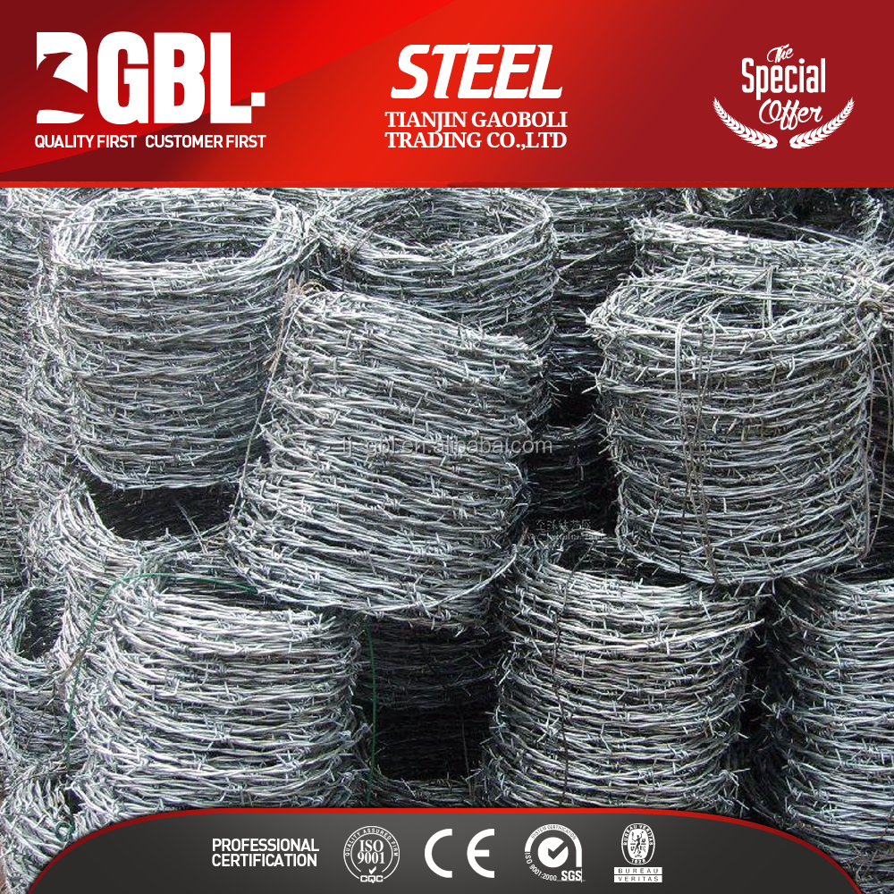 hot dipped galvanized wire barbed weight