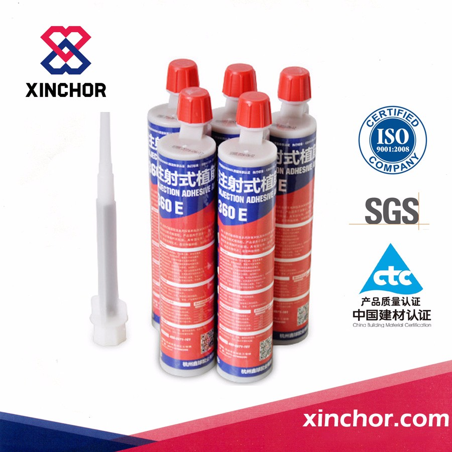 two component cartridge packed epoxy injection adhesive for road stud