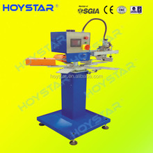 One Color Rotary Semi Automatic Screen Printing Machine Press