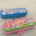 china hotsale good quality pencil case school with zipper in rectangular shape