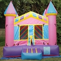 HOLA inflatable bouncy castle/pink inflatable castle for sale