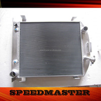 3 rows aluminum radiator core suppliers for CHEV ENGINE 1932