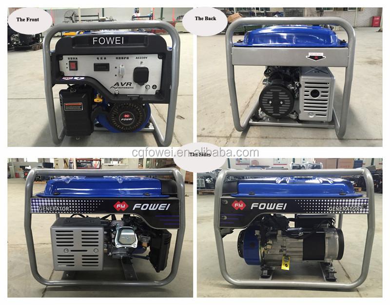 5kw 3 фазы тихая чунцин бензиновый генератор