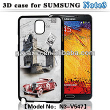 For samsung n9000 galaxy note3 cover case,3D hard case for Samsung galaxy note 3 n9000