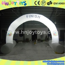 durable With LED light Advertising Inflatable Archway