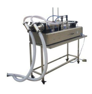 YD-1000 Semi Auto Dual Nozzle Yougurt filling machine