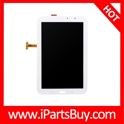 LCD Screen Display + Touch Screen Digitizer Assembly for Samsung Galaxy Note 8.0 / N5110(White)