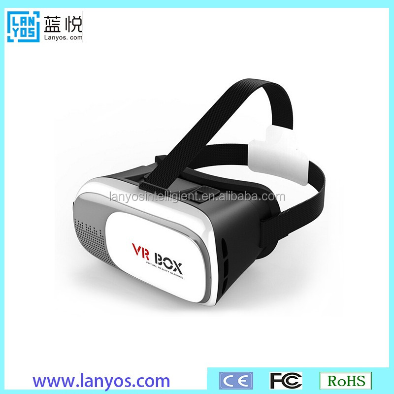 "Virtual Reality Headset VR Box Video Game 3D Viewing Glasses Head Mount Display VR-Park V3 For 4.7""-6.0"""