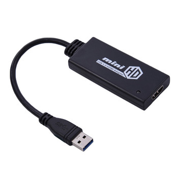 Display extender 1080p mini HD video USB 3.0 to HDMI adapter converter cable
