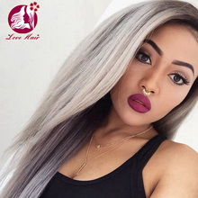 Popular grey color top 8a virgin indian human hair weave 8-30 inch silky straight grey human hair for braiding