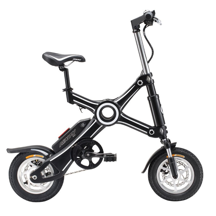 ASKMY X3 12 inch foldable ebike adult folding electric bicycle
