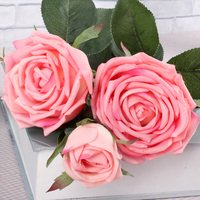 Factory Direct Decorative High Simulation Real Touch Fake Preserved Silk Artificial Rose Buy Flowers