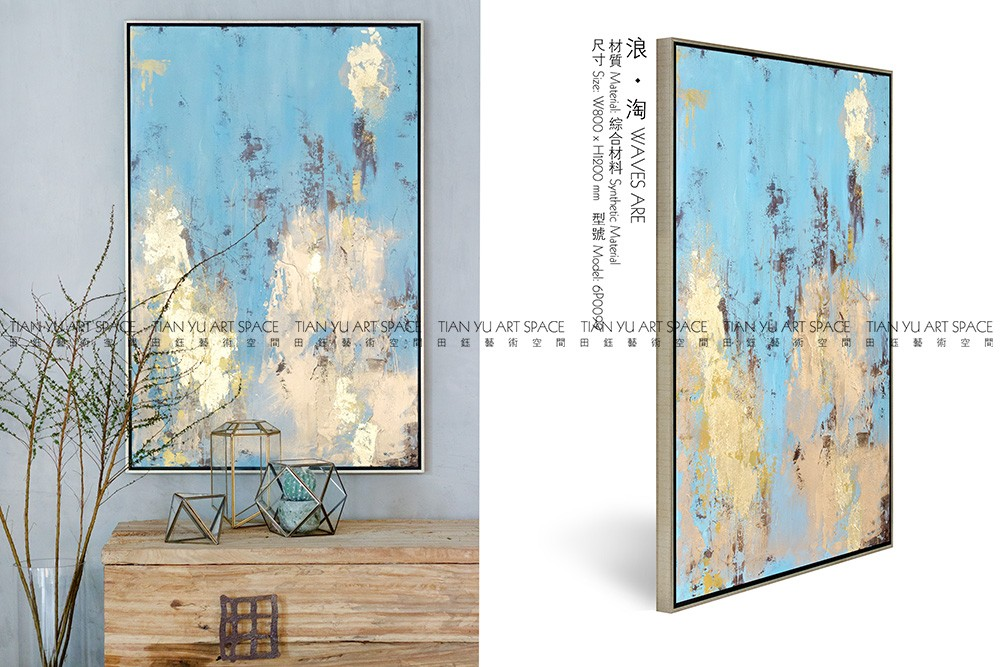 Designer handpainted modern abstract painting top art furniture handmade oil painting
