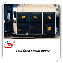 China low pressure refractory cement coal fired steam boiler for sale