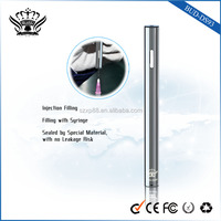 Creative Metal Tube disposable e-cigarette empty with Visible Windows for Oil