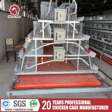 Low price 4 tier chicken layer battery cage for tanzania poultry farm