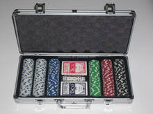 professional 11.5g heavy duty 300pcs poker game set