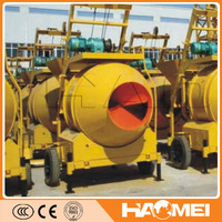 gasoline portable concrete mixer with best price