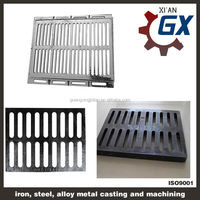 ductile cast iron en124 d400 linear drainage channel gratings