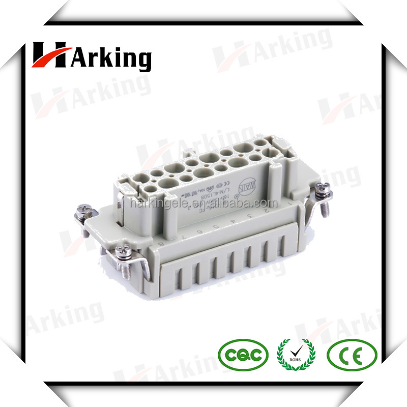 Top Quality HE-016 Crimp Terminal 16 Pin Heavy Duty Cable Connector Wholesale