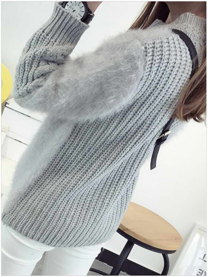 long sleeve button clothing hand knit sweater design 100% cashmere cardigan women
