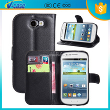 Black phone case for samsung galaxy win i8730, flip cover for samsung galaxy express i8730
