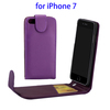 Top Quality Vertical Flip PU Leather Case for iPhone 7 Covers Case with Card Slot