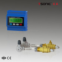 Ultrasonic insertion flow meter sonic