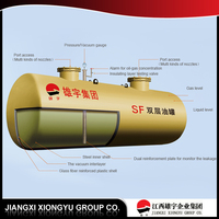 Factory supply New fuel stainless steel crude oil tank, stainless fiberglass fuel tank