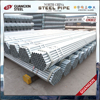 price list of on natural gas outdoors material galvanized steel pipe