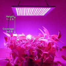 LED Grow Light for Red Blue Indoor Plant Lights and Hydroponic Full Spectrum Plant Grow Light