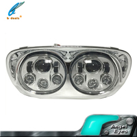 2016 high power 80W motorcycle led headlight for jeep wrangler