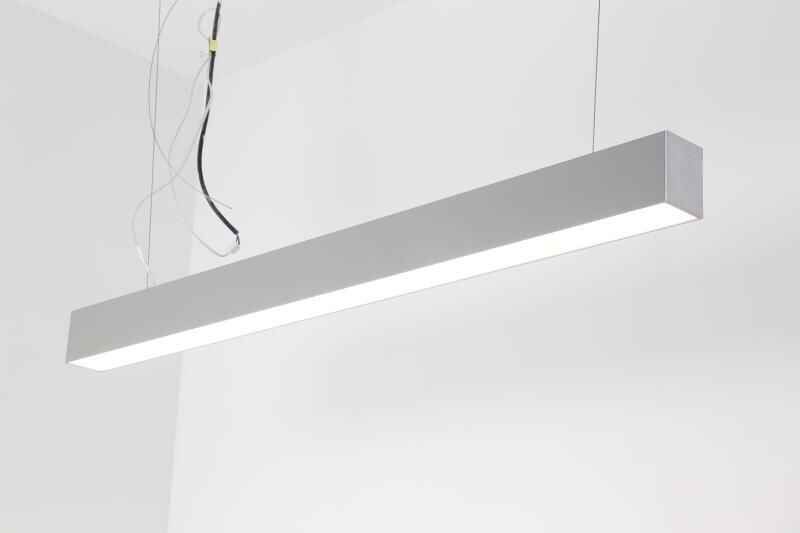 UL Super High Quality surface mounted suspended 40W 2ft 4ft LED trunking system LED linear for Office Hotel