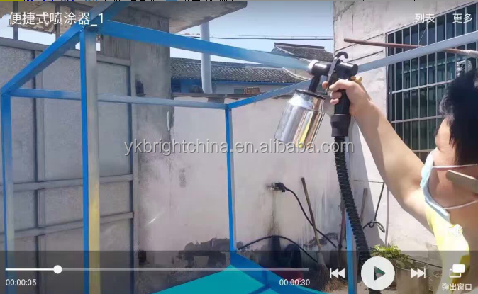 FA1000 Docorative DIY Painting Tool HVLP paint Equipment Electric Spray Gun factory direct selling