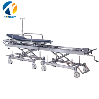 AC-ST017 medical devices CE&ISO Hot sale stainless steel patient transfer stretcher