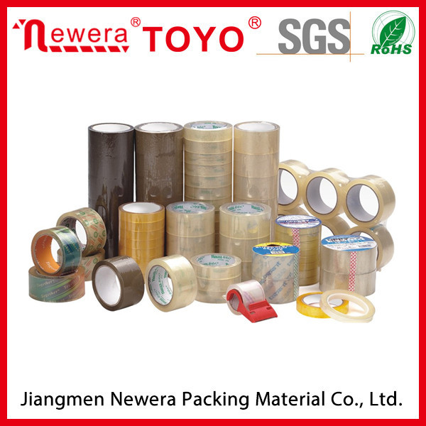 Transparent Bopp Packing self adhesvie packaging tape