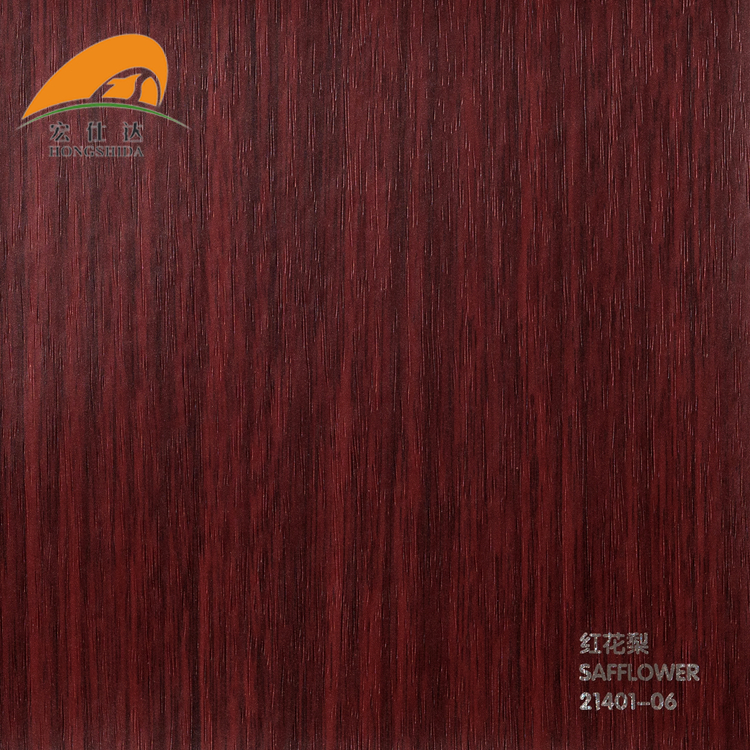 Hot Sell Laminate Decorative Film Wooden Grain For Pvc Wall Panel Ceiling Tiles