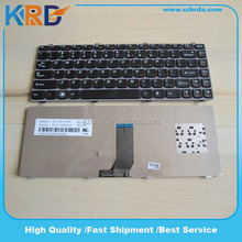 For Lenovo Ideapad Y470 Y480 Black Frame US Replacement Laptop Keyboard