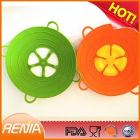 RENJIA silicone stretchable lids silicone covers for pots silicone pot lid cover