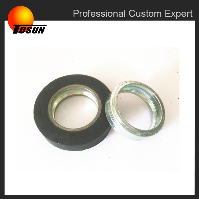 wholesale oem automotive metal to rubber parts TS16949 mold rubber bearing