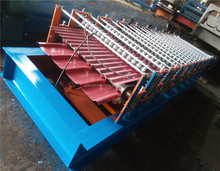 Botou Haide ce certification roof tile roll forming cold ibr or cnc coil panel double layer roll forming machine