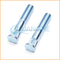 Chuanghe manufacture Top Quality cap head hex socket full thread knurled screws