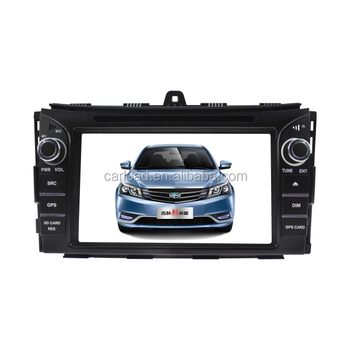 Touch screen Wince Geely car dvd gps with 2 din touch screen for Geely EC7 2014