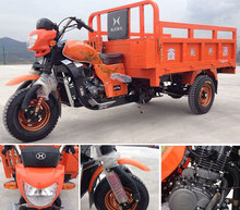 gas three wheel motor bike truck cargo tricycle