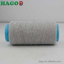 Eco friendly ne 21/1 open end cotton carded yarn for weaving