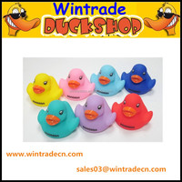 Soft PVC squeeze Duck, vinyl Duck, baby bath floating toy