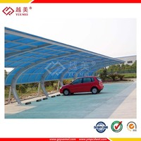 garage polycarbonate roofing for car park