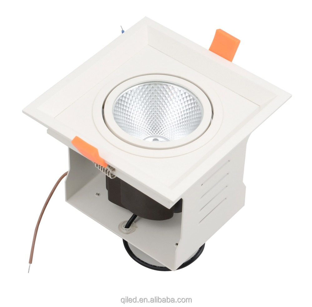 New popular COB multiple cob led down light and recessed light combo